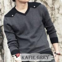 KAFIE GREY / SWEATER / JAKET RAJUT / CARDIGAN / KNIT / TRIBAL / KOREA