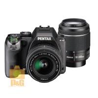 PENTAX K-S2 KS2 CAMERA BLACK DA L 18-50mm 50-200mm DOUBLE LENS KI