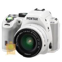 PENTAX K-S2 KS2 CAMERA WHITE   DA L 18-50mm LENS