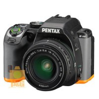 PENTAX K-S2 KS2 CAMERA BLACK ORANGE   DA L 18-50mm LENS