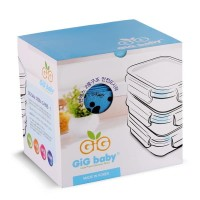 GiG Baby Rectangular Lunch Box Blue