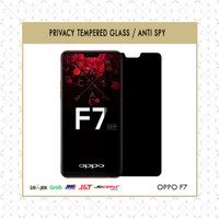 CASA Anti Spy Tempered Glass for Oppo F7 - Privacy 0.3mm
