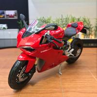 Jual Diecast Miniatur Motor Ducati 1199 Panigale skala 1/12 Maisto