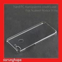 Clear Hard Case Casing Transparan Huawei Honor 9 Lite