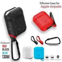 terlaris pelindung tempat Apple Airpods case pouch Silicone protector