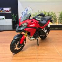 Jual Diecast Miniatur Motor Ducati 1200 Multistrada Skala 1/12 Maisto