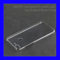 Huawei Honor 9 Lite - Clear Hard Case Casing Cover Transparan