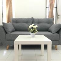 Sofa Minimalis Scandinavian 2 Seater