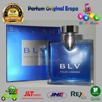 Parfume Pria Ori Bvlgari Bulgari BLV Pour Homme Parfum Original Reject