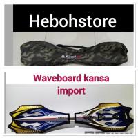 Waveboard/snakeboard/Ripstick/skateboard roket/swayboard kansa import