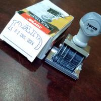 Stempel tanggal PAID /date stamp Joyko