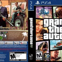 DVD Original GTA 5 PS4 Reg3 All