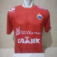 Jersey Persija Home 2018 Liga 1 Gojek Merah Grade Lokal Terbaru