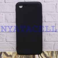 Case Matte Oppo A83 Soft Black Anti Minyak Softcase/SoftShell