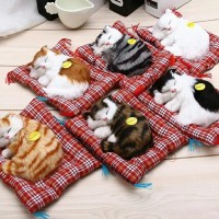 """Boneka Kucing BISA BERSUARA """"MEAUWW"""" U/ PAJANGAN"""