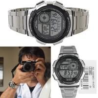 Jam Tangan original CASIO AE 1000 WD (STAINLESS STRAP)