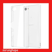 Clear Hard Case Casing Transparan Sony Xperia Z5 Compact