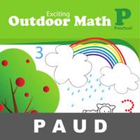 Exciting Outdoor Math Buku Aktivitas Menulis Berhitung Mewarnai Anak