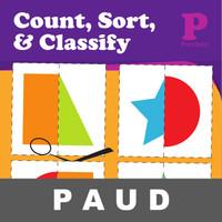 Count Sort Classify Buku Aktivitas Menulis Berhitung Anak Gambar PAUD