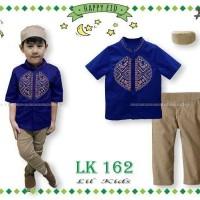 Baju Muslim Koko Lil Kids LK 162 Kode B