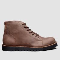 BRODO - Sepatu Pria Epsilon E+ Dark Choco BS