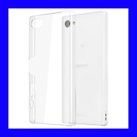 Sony Xperia Z5 Compact - Clear Hard Case Casing Cover Transparan