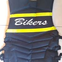 Rompi / pelindung dada bikert anti badai di jamin tidak tembus angin