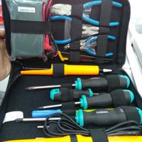 PROMO Elektronik Tool Set Tool kit Cadix Cadik S-10 S10 lebih lengkap