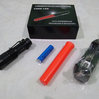 Senter Taktis / Tactical Flash Light / Cree Q5 (Fullset)