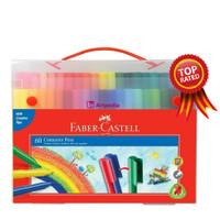 Connector Pen Faber Castell 60 Warna - Spidol warna Faber Castell