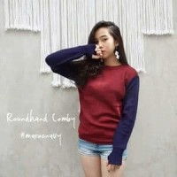 Baju Korea Wanita Roundhand COMBY PROMO RAMADHAN