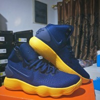 Sepatu Basket Nike Hyperdunk 2017 High Navy Yellow - HD 2017 High Navy
