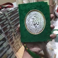 Cetak Buku Yasin Beludru 248 Hal Mattpaper + Siku + Rumbai + Plastik