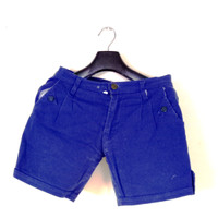 Celana pendek hot pants biru navy