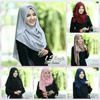 Jilbab Hijab pasmina instan