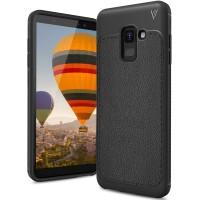 Case Softcase V Series Samsung Galaxy A6 - Biru