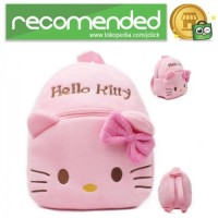 Tas Sekolah Anak Karakter Kartun Hello Kitty - Pink
