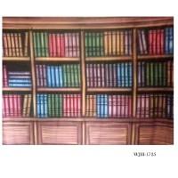 Background Foto Wisuda / Rak Buku WJII-1725 Studio Photo