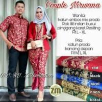 Kebaya Modern Batik Keluarga Sarimbit Couple Nirwana Kutubaru Baju