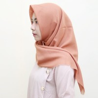 Fashion Muslim JILBAB ALFIYAH SEGI 4 SAUDI POLOS Murah Berkualitas