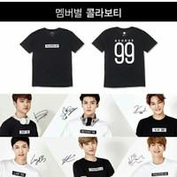 Kaos / tshirt / baju Exo Exodus bisa ganti nama dan nomor