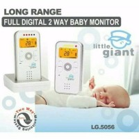 little giant long range 2way baby monitor