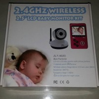 2 4GHz Wireless 2 5 LCD Baby Monitor Kit