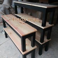 Bangku/Bangku Kayu/Tempat Duduk/Bangku Taman/Kursi Kayu/Kursi Tunggu
