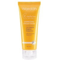 Wardah - C-Defense Energizing Creamy Wash 60 ml