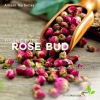 Artisan Tea Cafe - Pure Rose Bud Bunga Mawar Kering Dried Rosebud 50gr