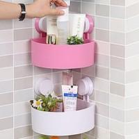 Rak Holder Kamar mandi Sudut Serbaguna Tempat Sabun Shampoo Soap Odol
