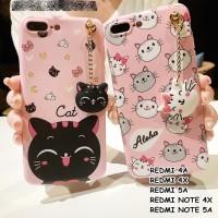 FOR XIAOMI REDMI 4A, 4X, NOTE 4, NOTE 4X, 5A, NOTE 5A - NEKO CAT CASE