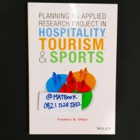 Planning An Applied Research Project In Hospitality, Tourism And Sport