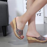 Wedges batik kelsey ORIGINAL